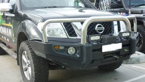 R51 Pathfinder (Recessed line in OE Bumper) Protector Bull Bar