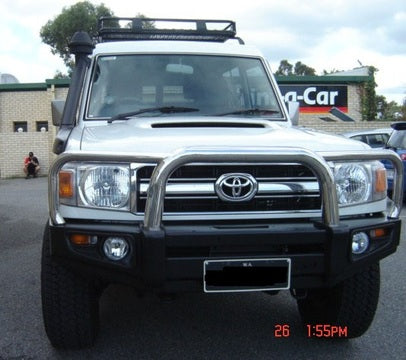 Protector Bull Bar to suit Landcrusier 76 Series