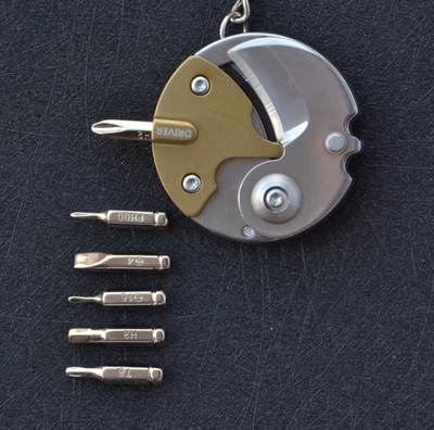 CraftsmanCapitol™ Multi-Functional Coin with Screwdriver Combination