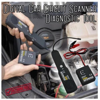CraftsmanCapitol™ Digital Car Circuit Scanner Diagnostic Tool - Craftsman Capitol