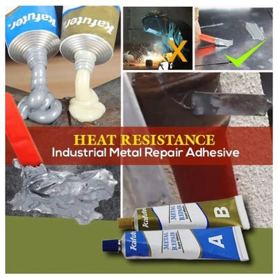 CraftsmanCapitol™ Industrial Heat Resistance Cold Weld Metal Repair Paste - Craftsman Capitol