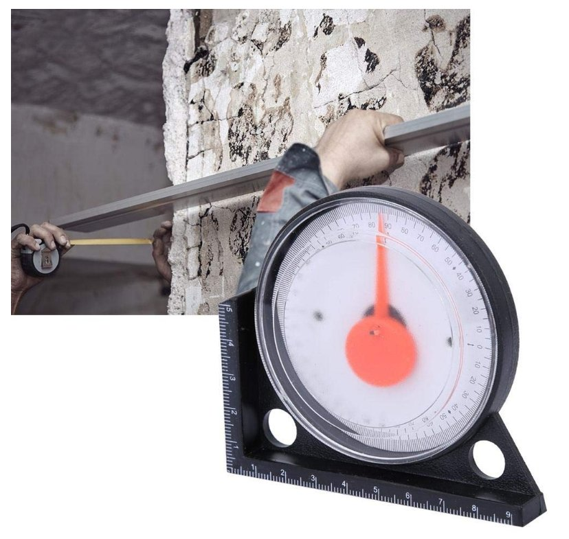 HVAC 0-90 degrees Magnetic Contact Angle Locator Plumbing Electrical
