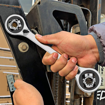 CraftsmanCapitol™ Premium 52-in-1 Adjustable Socket Wrench Spanner - Craftsman Capitol
