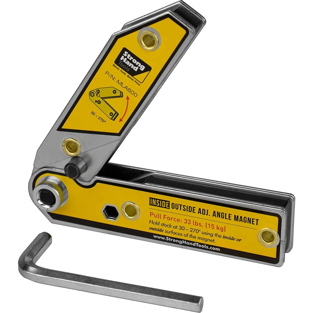 CraftsmanCapitol™ Premium Adjustable Angle Magnetic Square Welding Tool - Craftsman Capitol