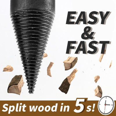 CraftsmanCapitol™ Premium Artifact Wood Splitter Drill Bit - Craftsman Capitol