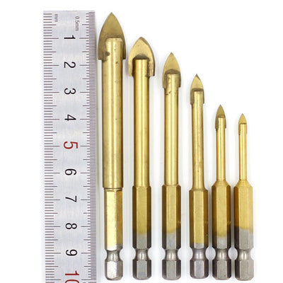 CraftsmanCapitol™ Premium Carbide Glass Drill Bit Set [6PCS] - Craftsman Capitol