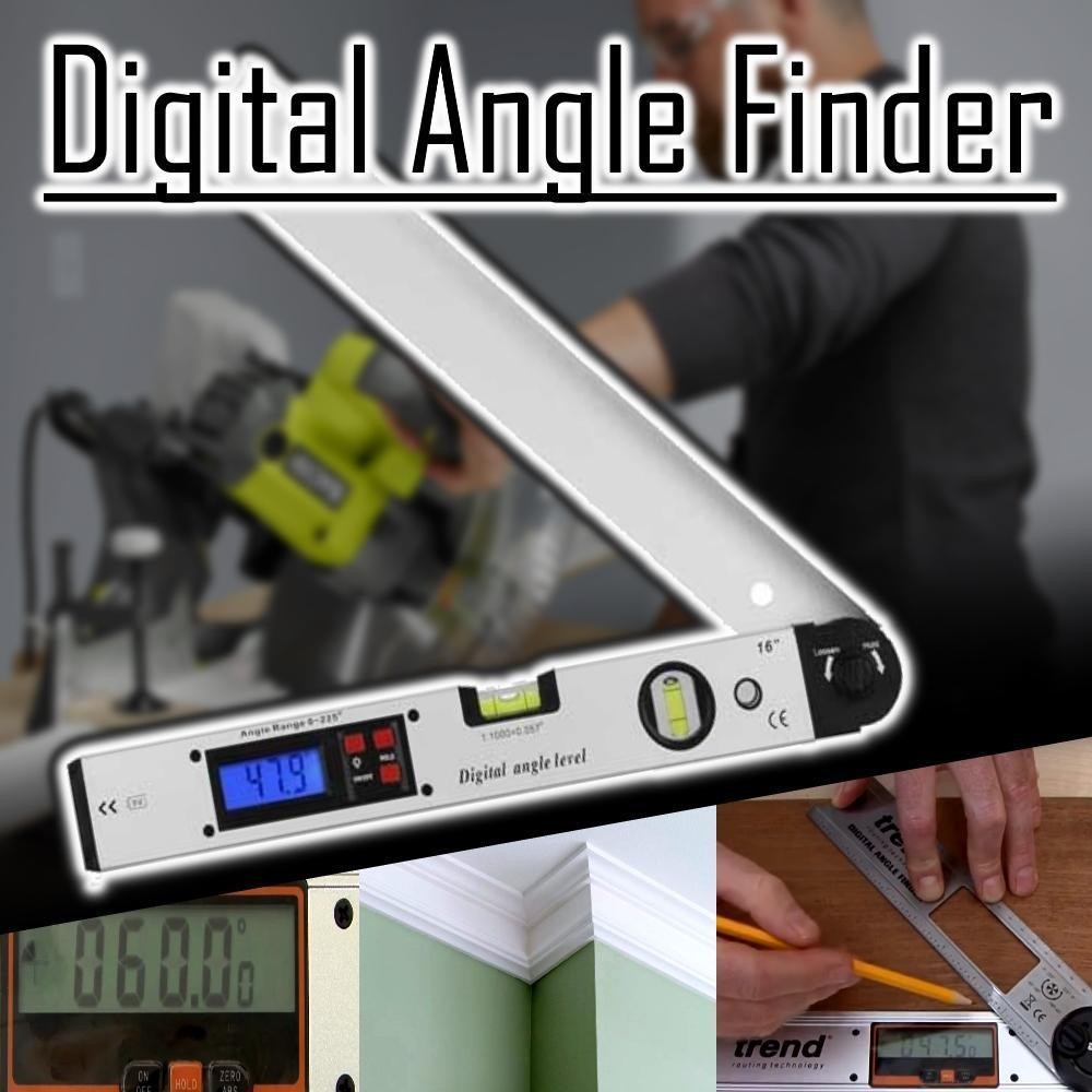 CraftsmanCapitol™ Premium Digital Angle Level - Craftsman Capitol