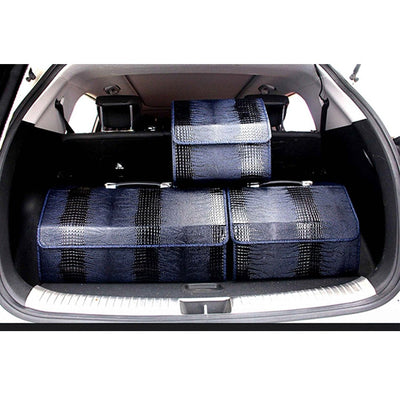 CraftsmanCapitol™ Premium Foldable Leather Heavy Duty Car Trunk - Craftsman Capitol