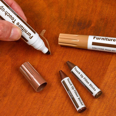 CraftsmanCapitol™ Premium Furniture Repair Marker Pens Set - Craftsman Capitol