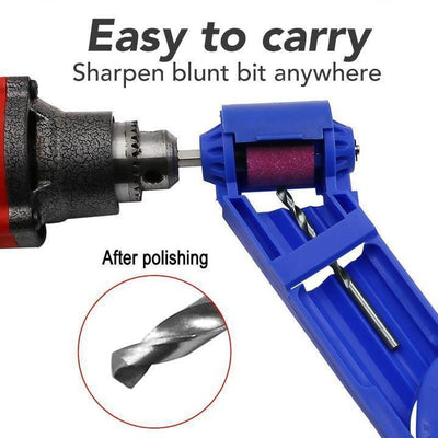 CraftsmanCapitol™ Premium Heavy-Duty Drill Bit Sharpener - Craftsman Capitol