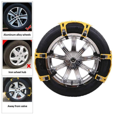 CraftsmanCapitol™ Winter Emergency Anti Slip Tire Traction Chains - Craftsman Capitol