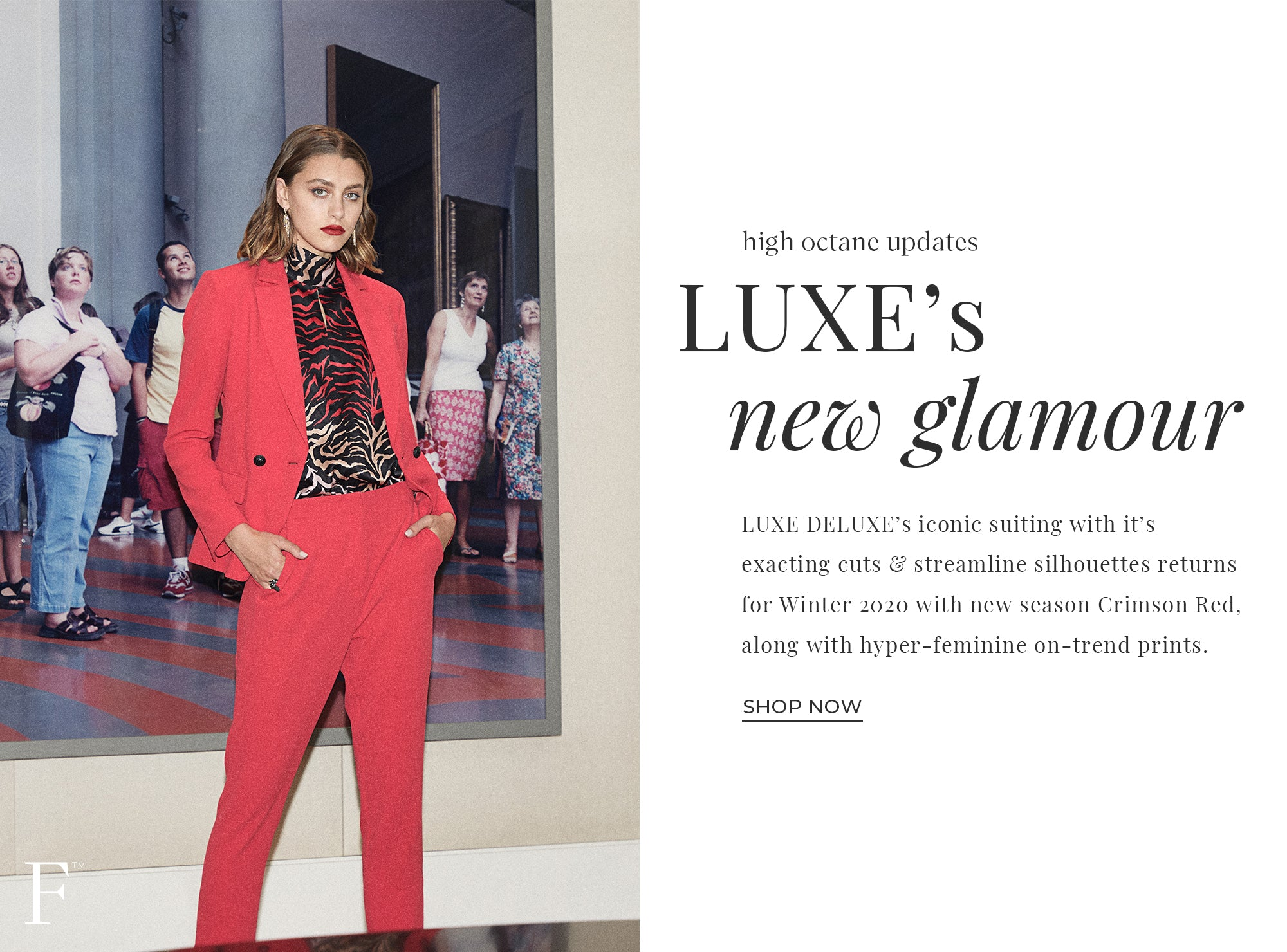 LUXE'S NEW GLAMOUR