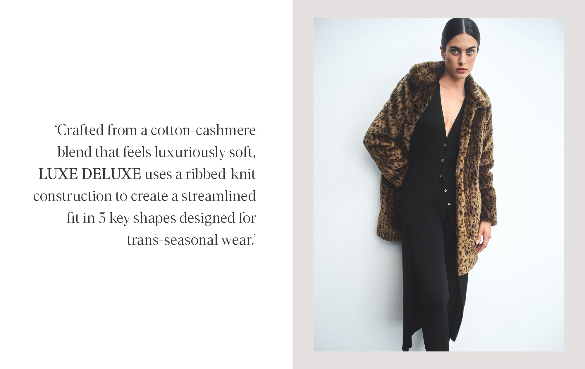 LUXE DELUXE COTTON CASHMERE KNITS