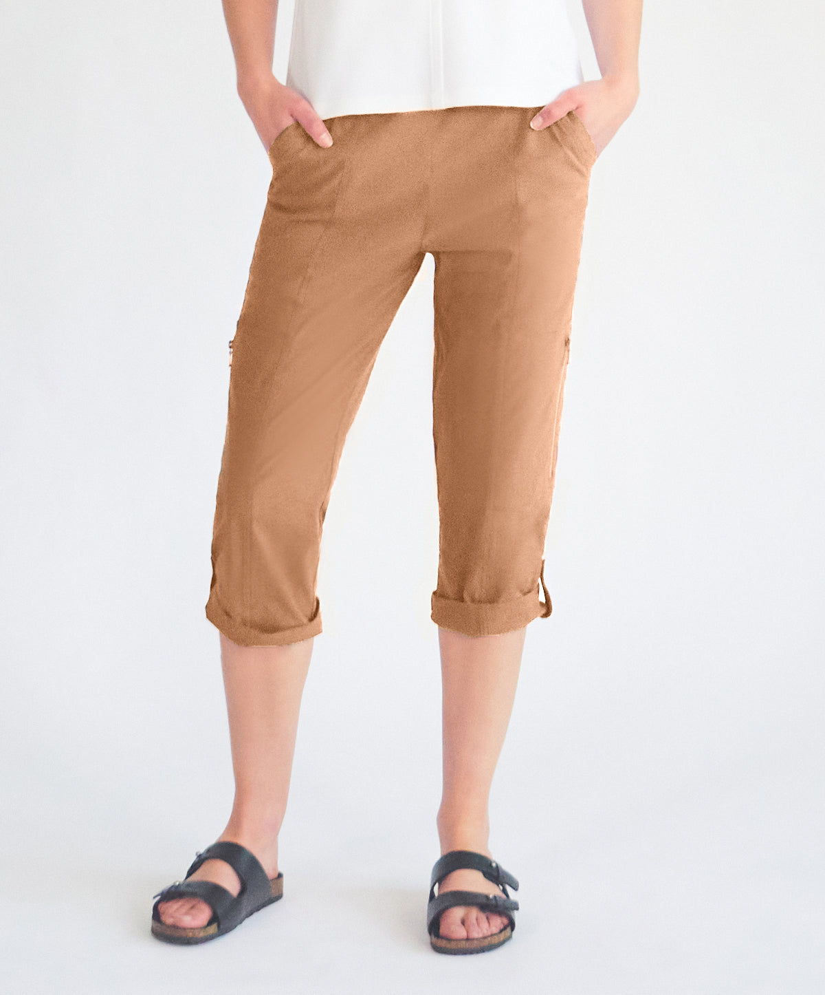 Cropped Zip Cargo