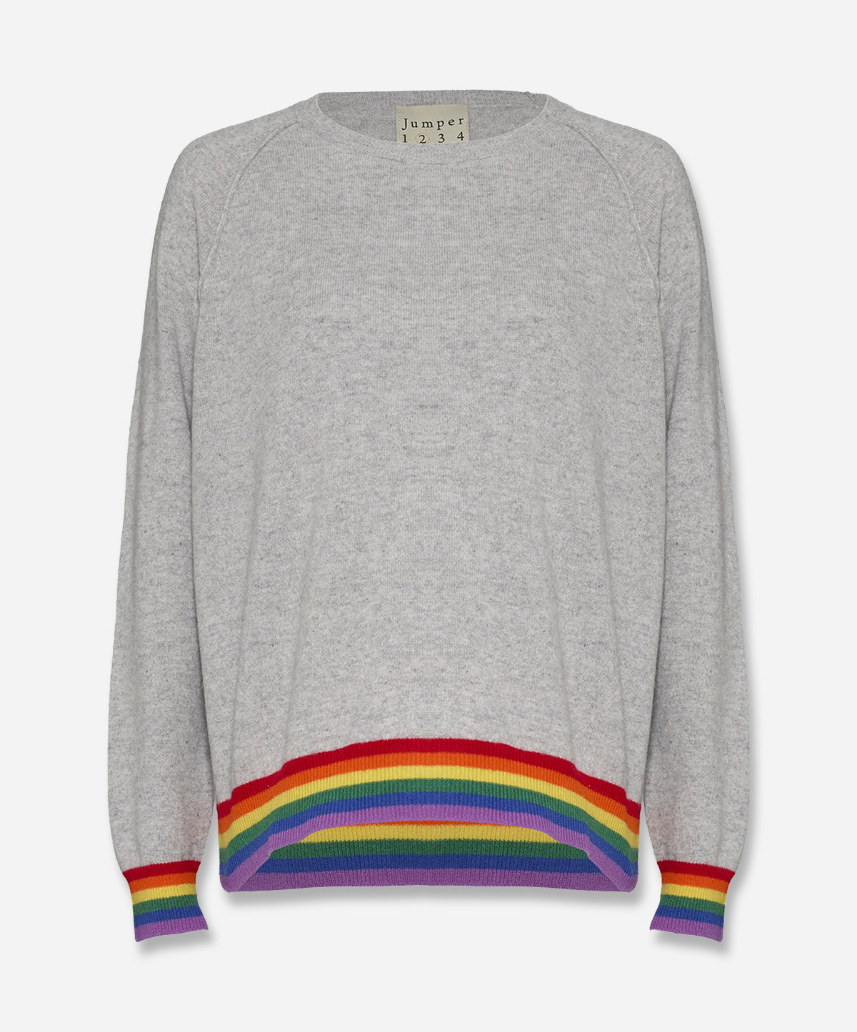 Stripe Hem Sweat