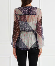 Load image into Gallery viewer, Always Perfect Asymmetric L/S Blouse W Cami