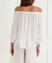 Load image into Gallery viewer, Look Twice Off Shoulder Balloon Sleeve Top