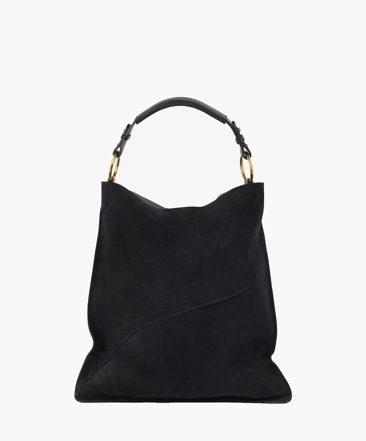 Positano Double Faced Suede Tote
