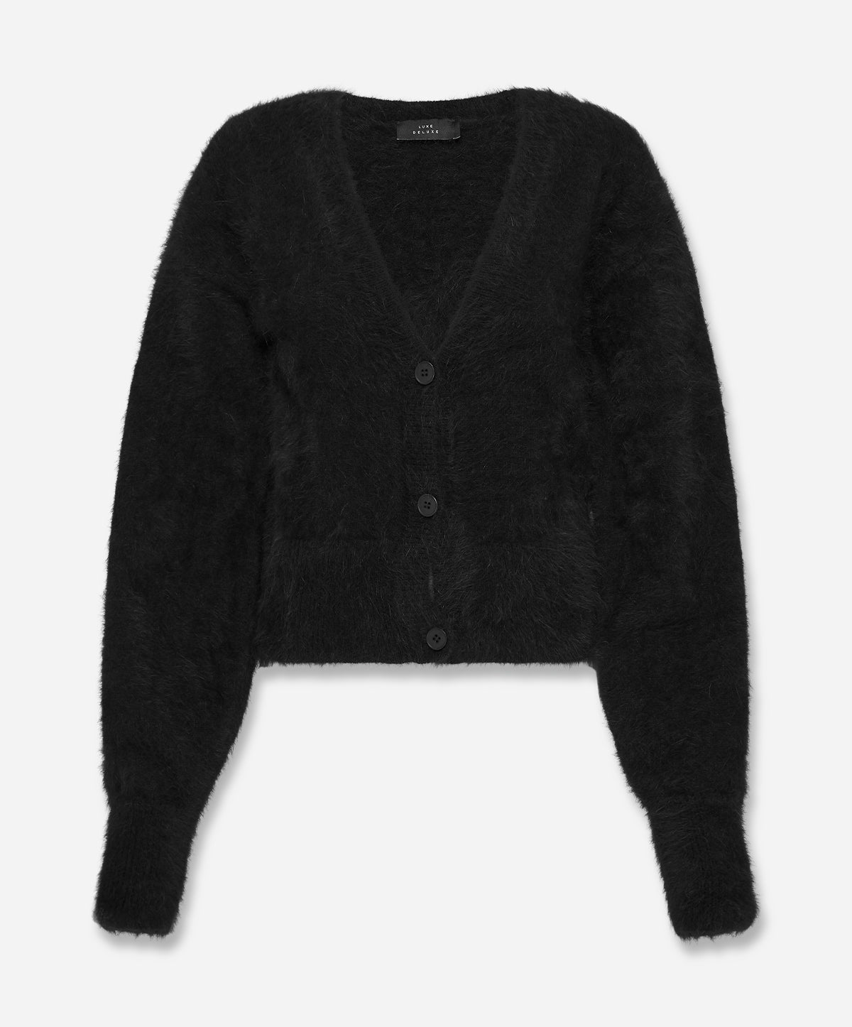 Our Song Angora Crop Cardigan