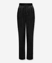 Load image into Gallery viewer, Molten Satin Straight Leg Pant