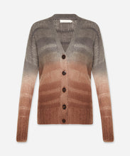 Load image into Gallery viewer, Stripe Dye Cardigan