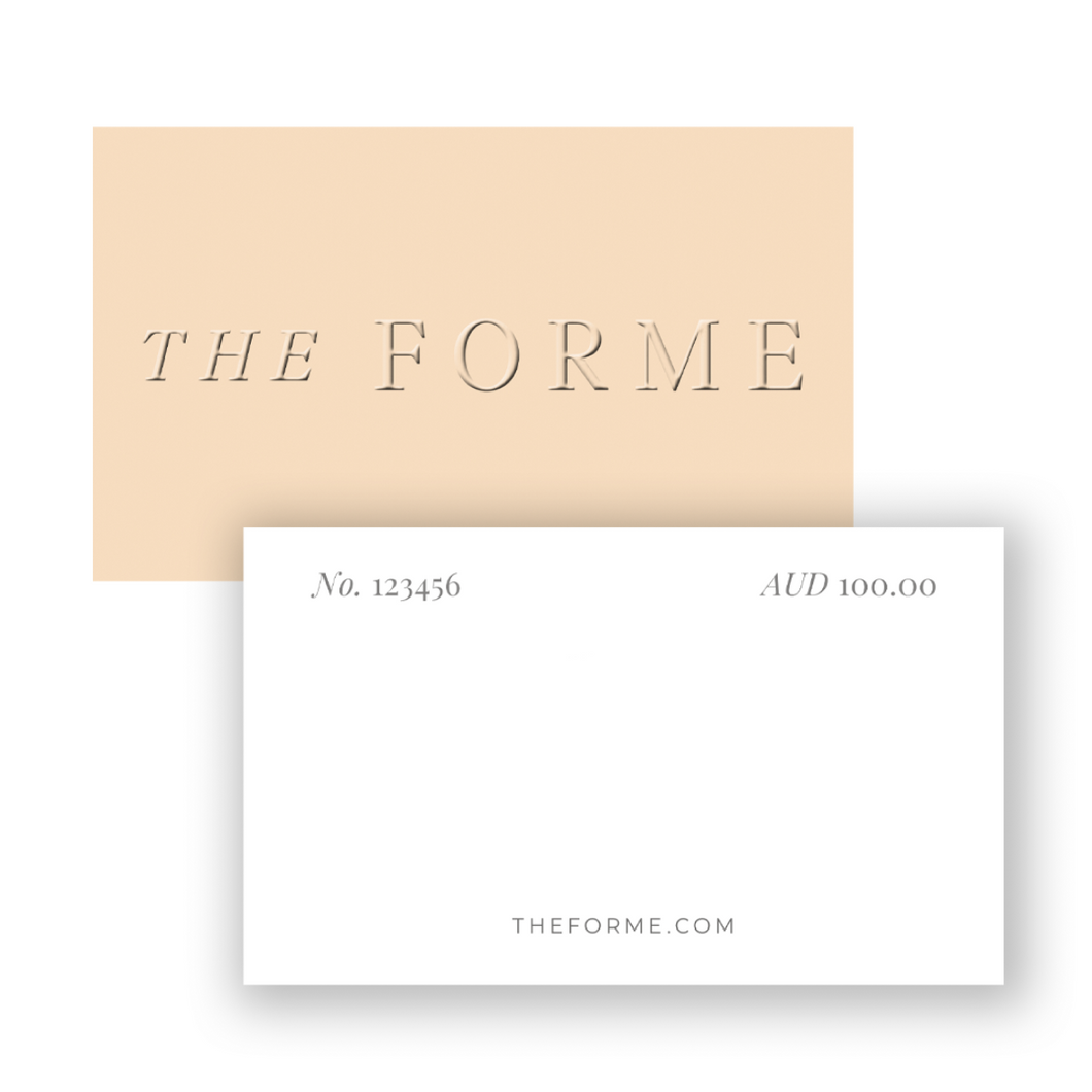 The Forme Gift Card