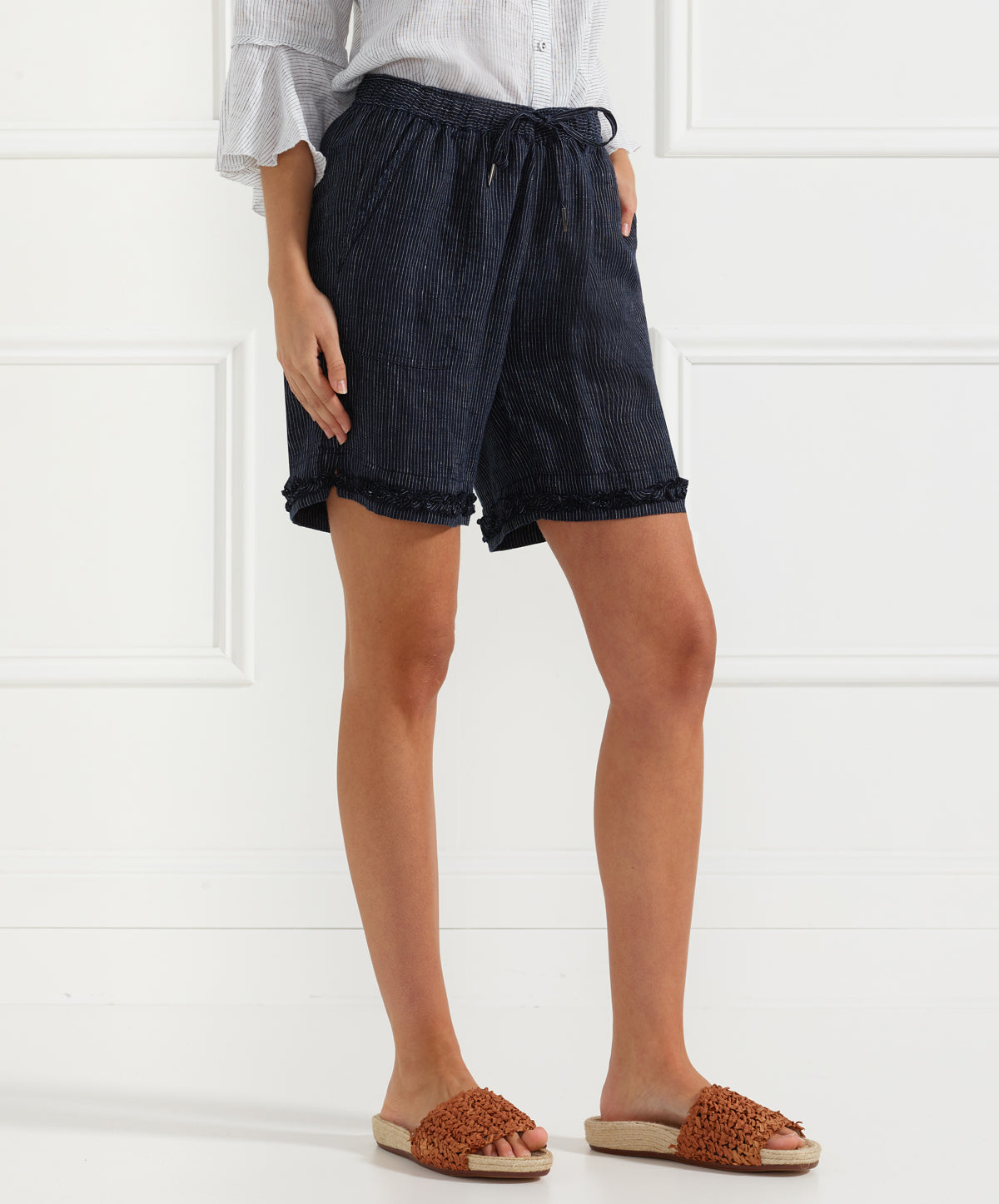 Frantic Ruffle Short