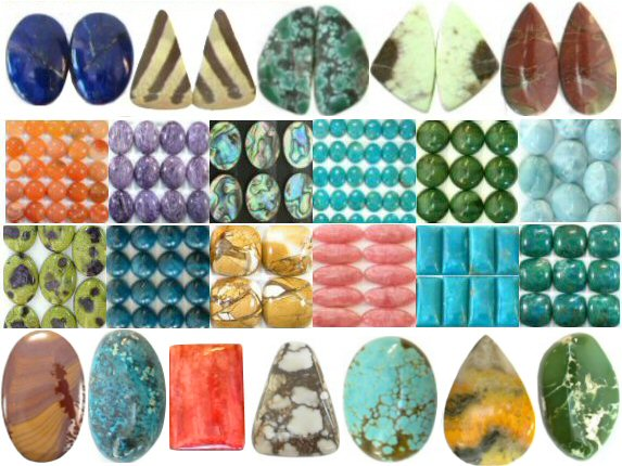 Cabs and Slabs - Undrilled Stones for Metal or Wire Wrapping