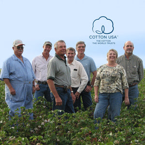 Cotton USA organic farmers from Texas Organic Growers Co-op.