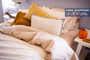 American Blossom Linens Organic Cotton Sheets Made in the USA