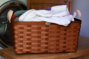 Cherry American Made Appalachian Ash Laundry Basket