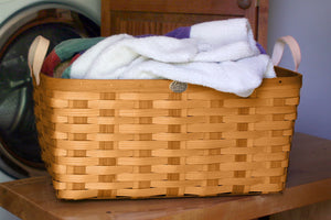 Honey American Made Appalachian Ash Laundry Basket