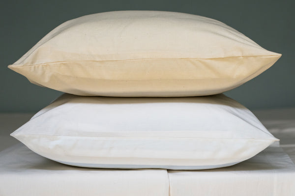 American Made Organic Cotton Pillowcases