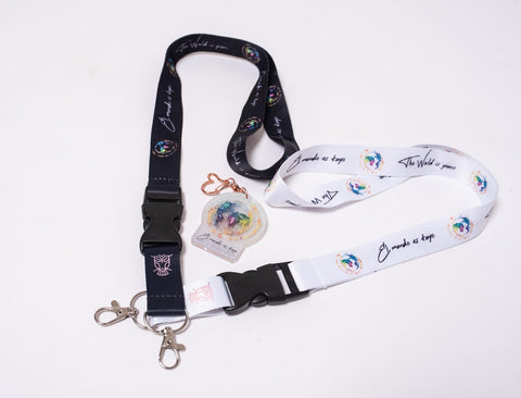 Lanyards (EL MUNDO ES TUYO) (THE WORLD IS YOURS)