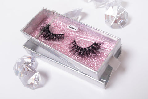 Angel 3d mink silk eyelashes