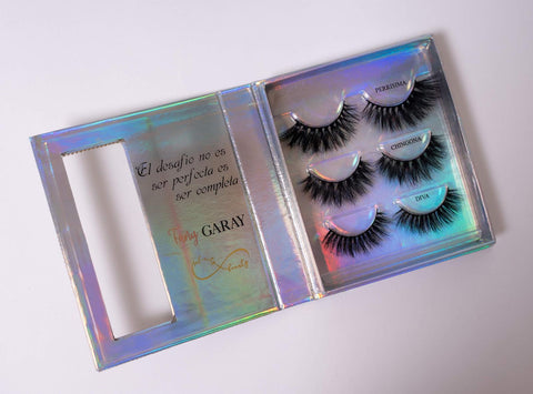 Boss Diamond 3 pair lash Box + Lash Applicator
