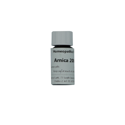 Arnica 200c Homeopathic Remedy, Commonly used after childbirth or surgery.