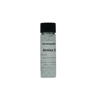 Arnica 200c pills Homeopathic Remedy, Commonly used after childbirth or surgery.