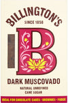 Billington's Natural Unrefined Dark Muscovado Cane Sugar 500g