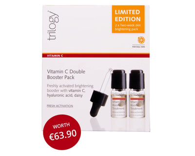 Trilogy Vitamin C Booster Treatment double pack