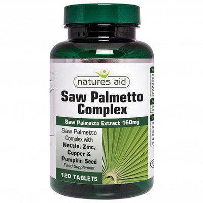 Natures Aid Saw Palmetto Complex 120 Tabs