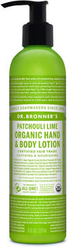 Dr Bronner's Organic Lotion Patchouli Lime 236ml