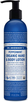 Dr Bronner's Organic Lotion Peppermint 236ml