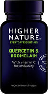 Higher Nature Quercetin & Bromelain 60 Caps