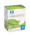 Organyc Organic Cotton Sanitary Pads Folded Moderate Flow (10)