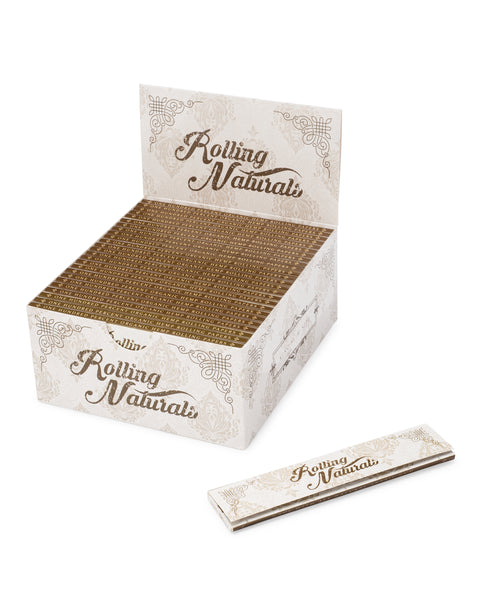 Raw Hemp Organic King Size Cigarette Rolling Papers 50 packs