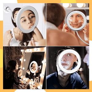 PanalongShopper.com FlexZoom® MakeUp Mirror