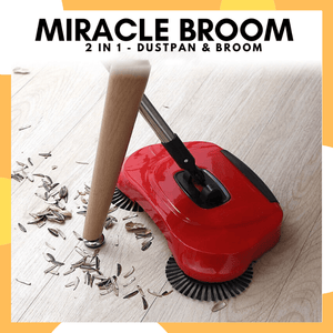 PanalongShopper.com Miracle Broom : 2 in 1  Dustpan & Broom ( Php 500 Off Sale)