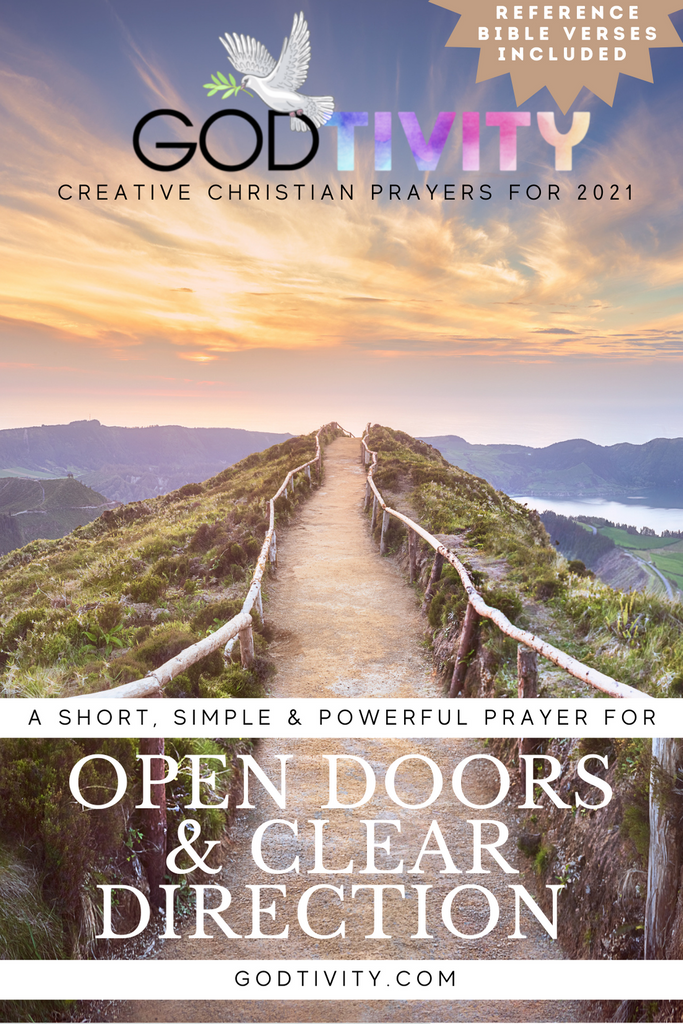 A Prayer For Open Doors And Clear Direction