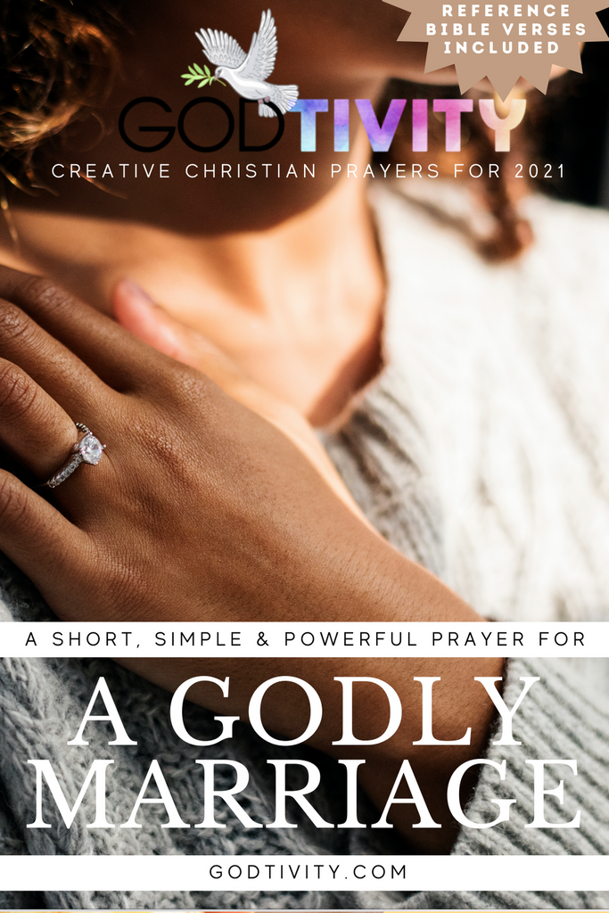 A Prayer For A Godly Marriage